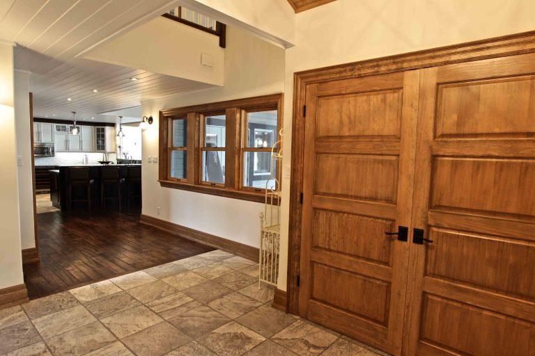 custom built cottage - hallway