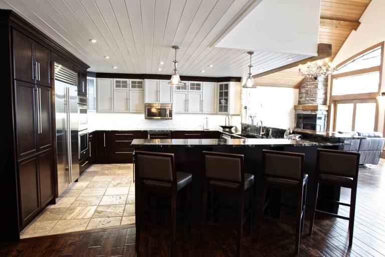 custom built cottage - kitchen