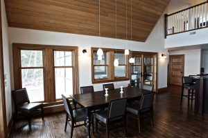 custom built cottage - dining room