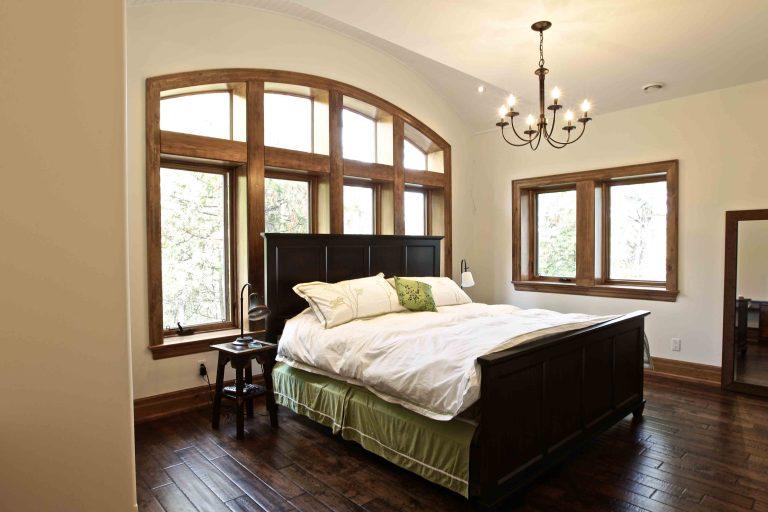 custom built cottage - bedroom