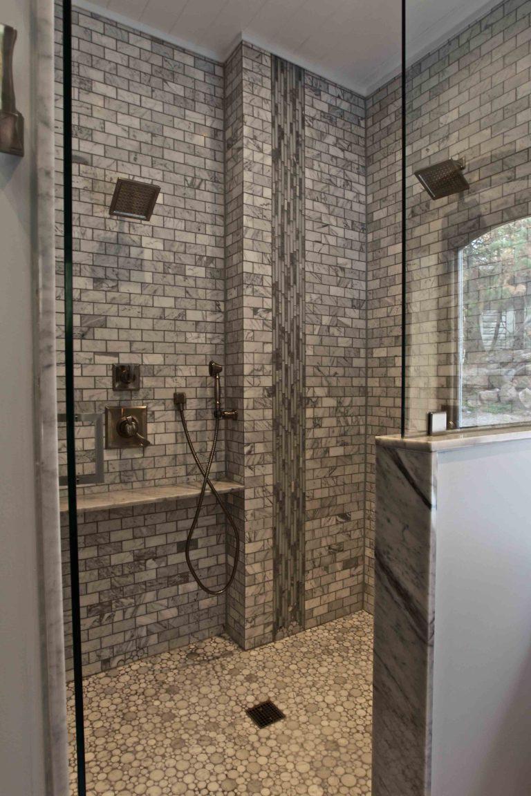 custom built cottage - bathroom