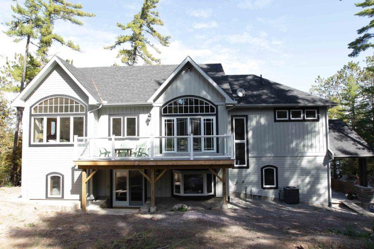 custom built cottage - cottage from back