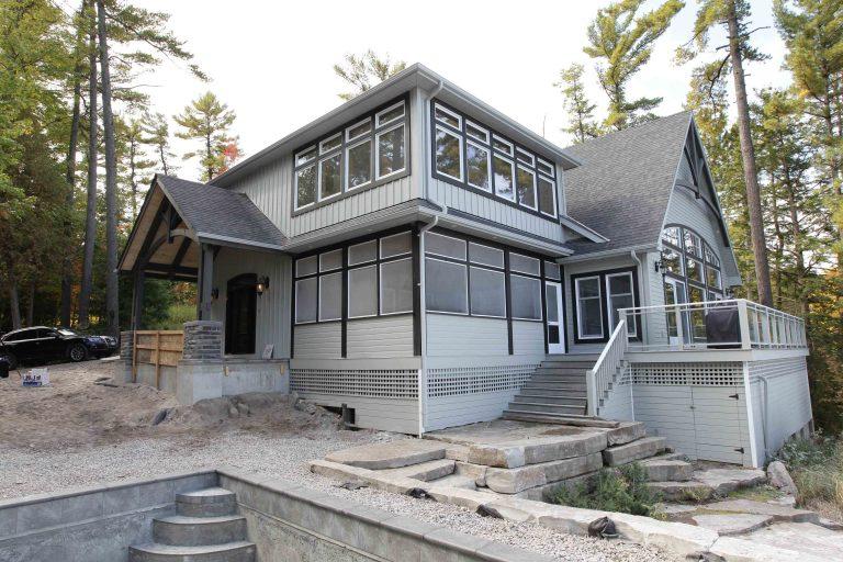 custom built cottage - side cottage