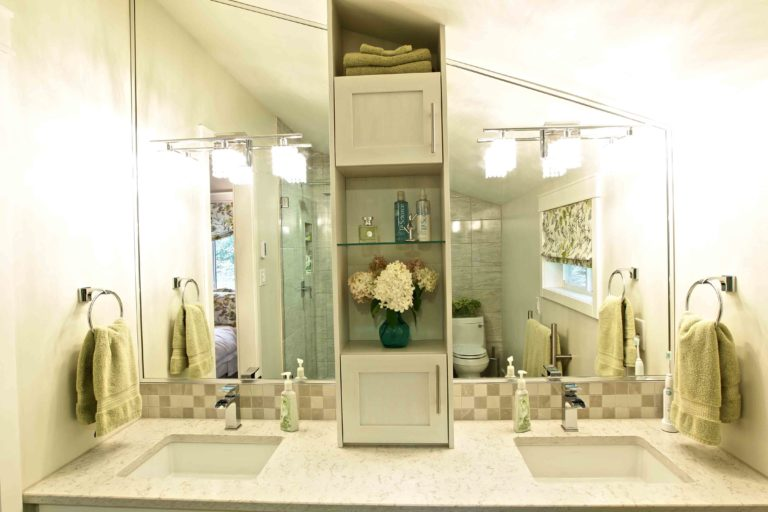 interior renovation - bathroom vanity