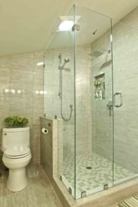 interior renovation - shower
