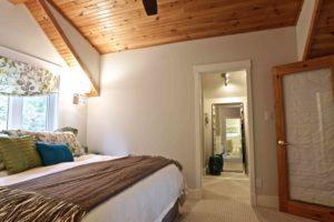 interior renovation - bedroom walking into closet