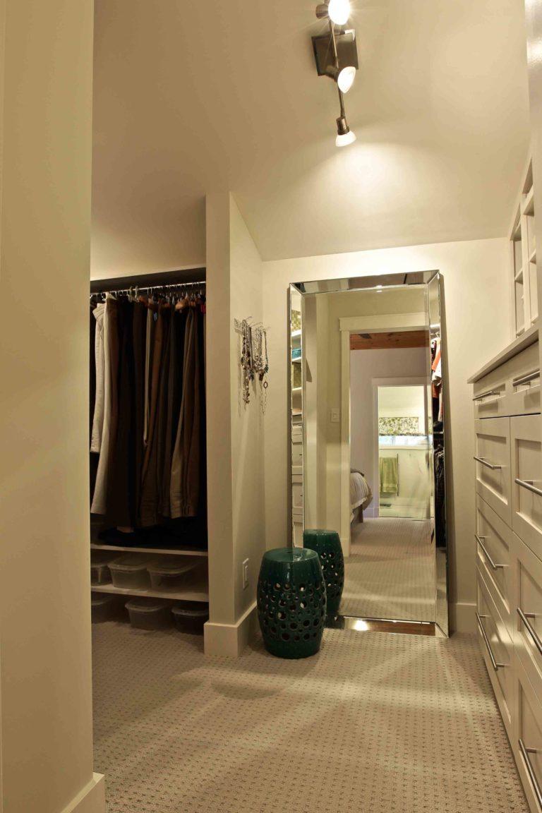 interior renovation - closet