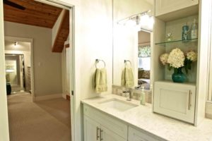 interior renovation - bathroom