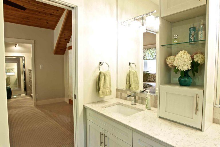 interior renovation - bathroom