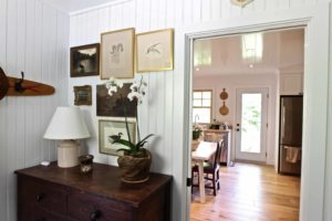 Catchacoma cottage renovation - gallery wall