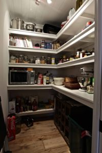 Catchacoma cottage renovation - pantry