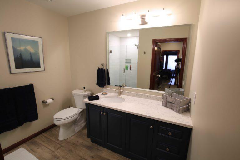 Clear Lake Bathroom Renovation - Lower Bathroom