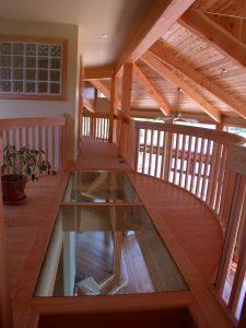 custom award winning home - upstairs hallway