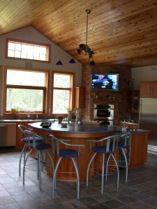 custom award winning home - kitchen