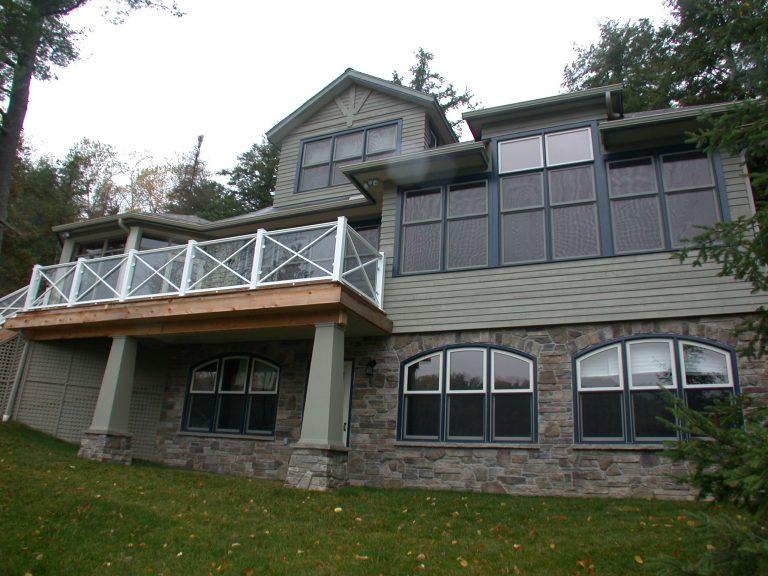 r2000 custom home - exterior