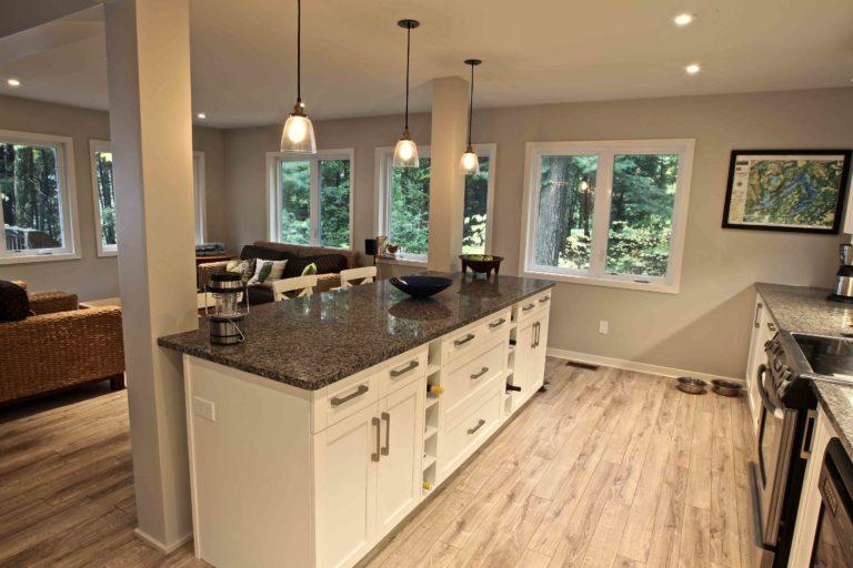 home renovation - kitchen island