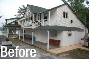 Juniper Island Store Rebuild - Before