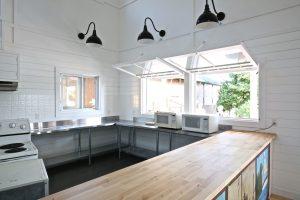 Juniper Island Store Rebuild - Kitchen Area