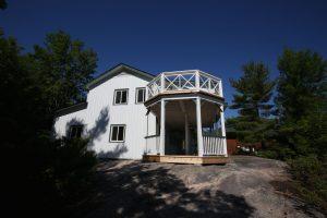 Juniper Island Store Rebuild - Side of Building