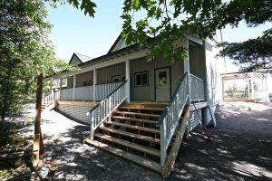 Juniper Island Store Rebuild - Back Porch