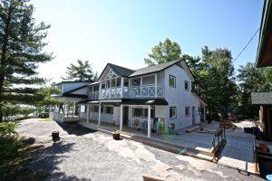 Juniper Island Store Rebuild - Exterior