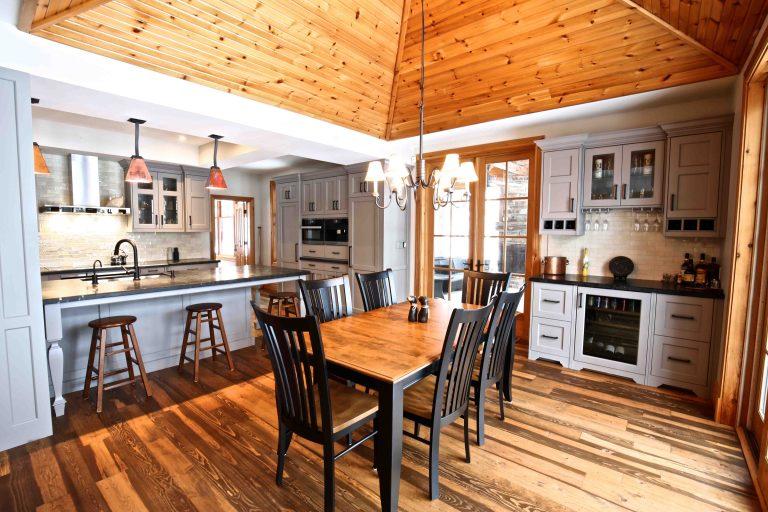 Buckhorn Cottage Renovation - Dining Room