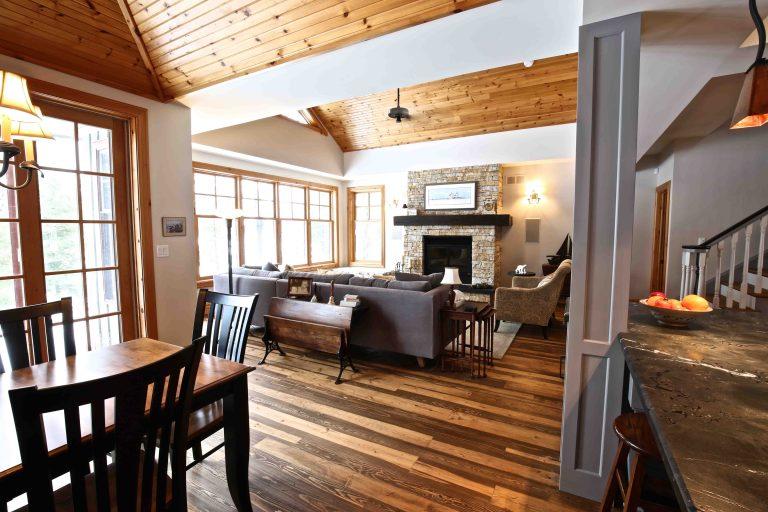 Buckhorn Cottage Renovation - Living Room