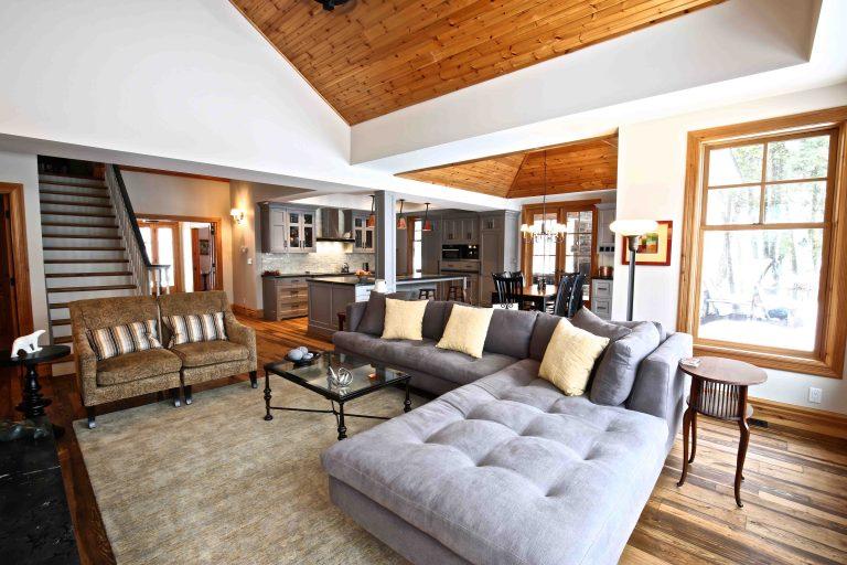 Buckhorn Cottage Renovation - Living Room 2