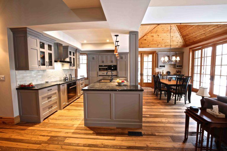 Buckhorn Cottage Renovation - Side Kitchen