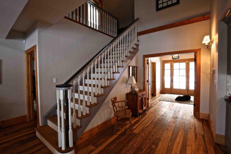 Buckhorn Cottage Renovation - Staircase