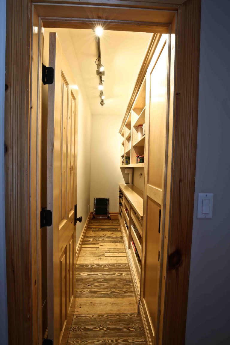 Buckhorn Cottage Renovation - Pantry