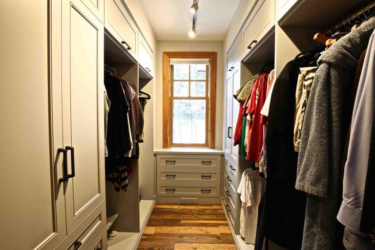 Buckhorn Cottage Renovation - Walk-In Closet