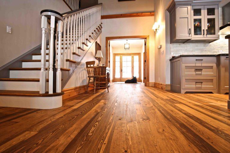 Buckhorn Cottage Renovation - Flooring