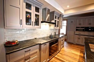 Buckhorn Cottage Renovation - Counter and Backsplash