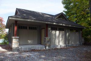 Buckhorn Garage - doors
