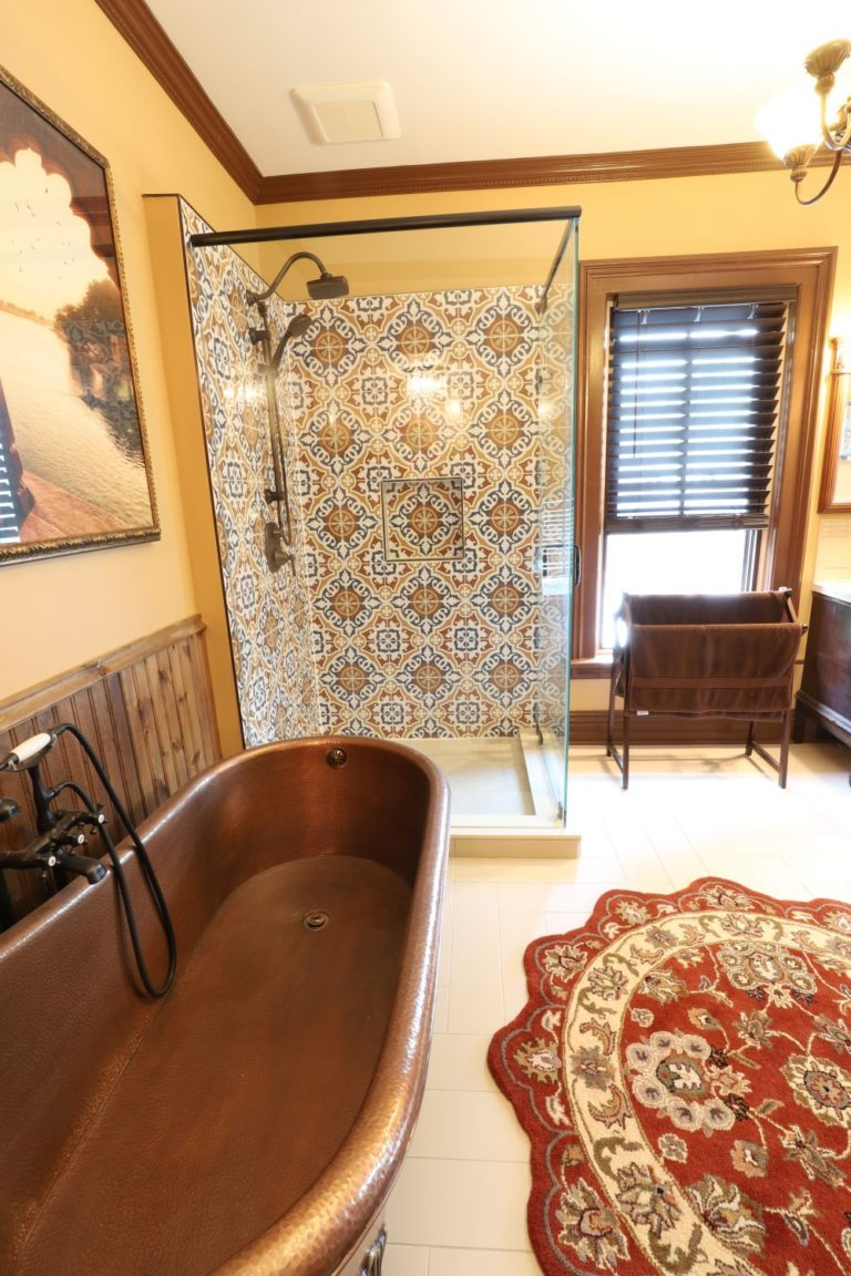Lakefield Bathroom Renovation - Tub and Shower