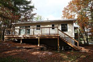 custom stoney lake cottage - Exterior