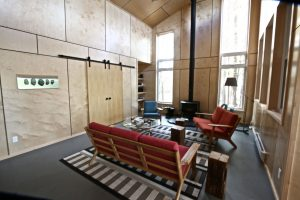 custom stoney lake cottage - Living Room