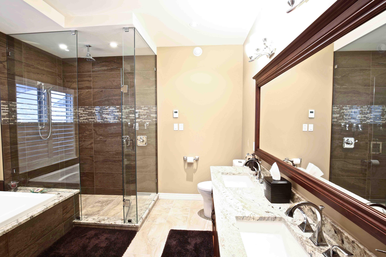 Master Bathroom Renovation Kawartha Lakes Construction