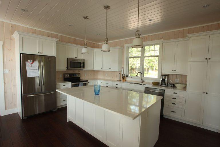 stoney lake custom cottage build-kitchen 2
