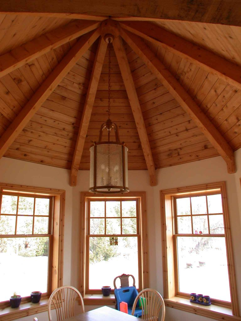 lakefield custom home - sun room