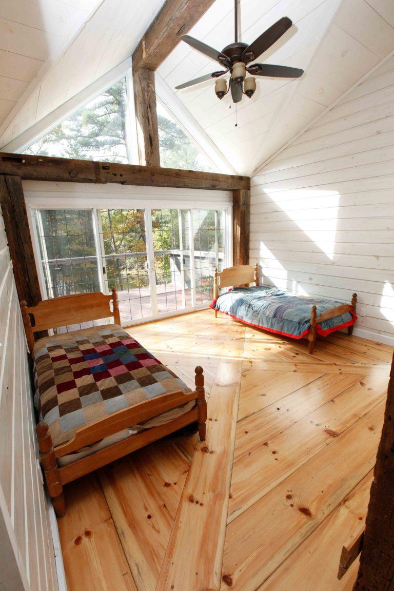 lakefield cottage build - kid's bedroom