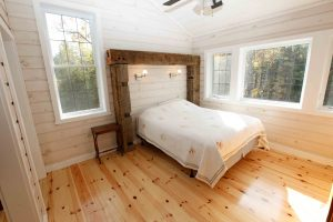lakefield cottage build - bedroom