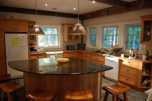 lakefield cottage build - kitchen
