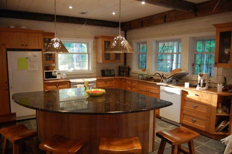 lakefield cottage build - kitchen
