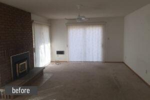 Spec House-LivingRoom-Before
