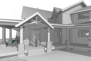 custom cottage build - revit sketch