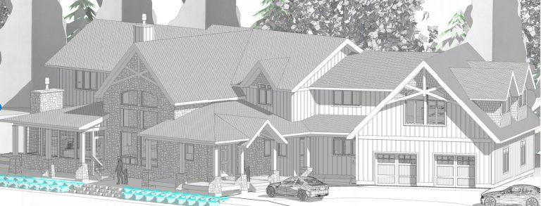 custom cottage build - revit plans