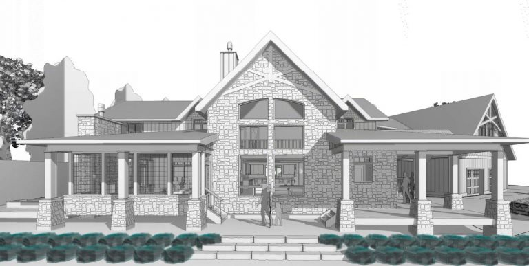 custom cottage build - drawing