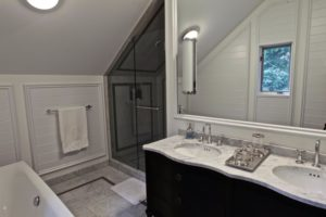 Stoney Lake Bathroom Renovation - Wide View